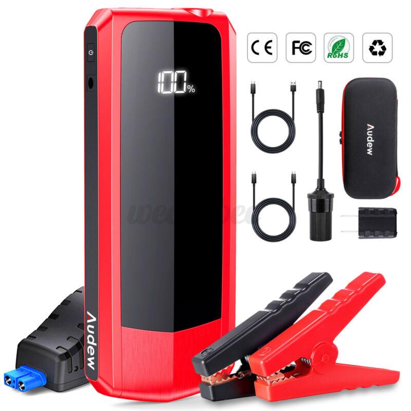 Audew Jump Starter Car Auto Battery Jump Starter Portable 2000A Charger 20000mA