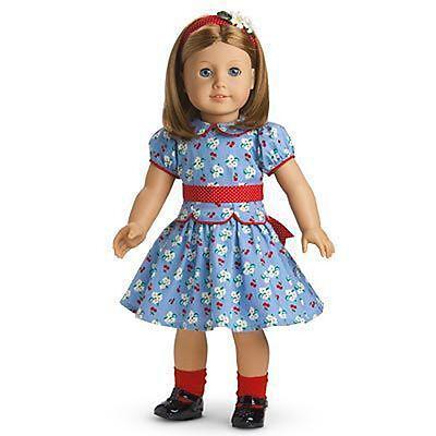 **NEW** AMERICAN GIRL ~ Emily Doll & Paperback Book ~ RETIRE