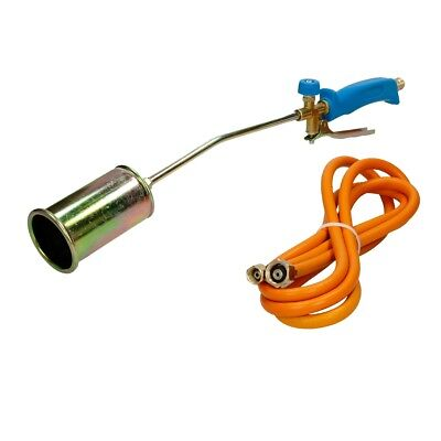 Propane butane gas torch gun burner 3m hose regulator 70mm gas burners blow roof