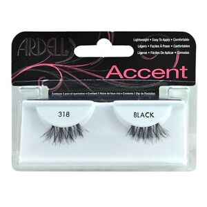 75834c14200 Ardell Accent Style Eye Lashes Number 318 Black Set of 4 for sale ...