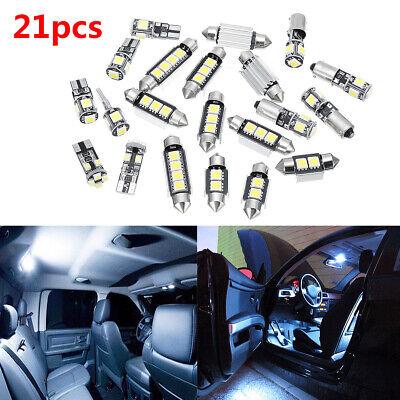 21x Car Interior White LED Light Bulb Kit For BMW 5 series M5 E60 E61 2004-2010 for sale  Altadena