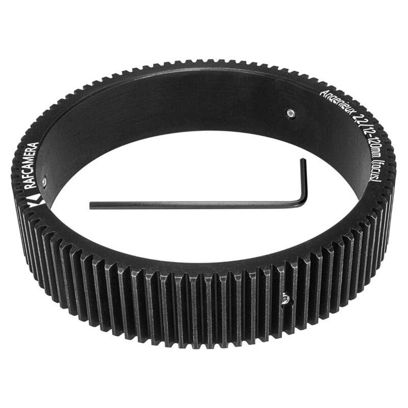 Follow focus gear for Angenieux 12-120mm zoom lens (65-75-17mm, focus)