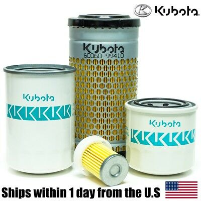 Genuine Oem Kubota B7500 B7510 B2320 Dt Tractor Filter Maintenance Kit