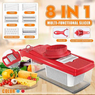 8in1 Vegetable Chopper Food Onion Cutter Veggie Slicer Dicer