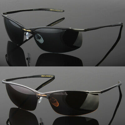 - Metal Men Polarized Sunglasses Sport Wrap Around Driving Eyewear Glasses