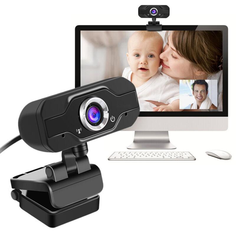 USB 1080P HD Webcam Web Cam Kamera Videoanrufe für Computer PC Laptop Desktop