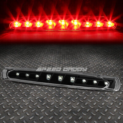 FOR 97-04 CHEVY CORVETTE BLACK HOUSING LED THIRD 3RD TAIL BRAKE LIGHT LAMP BAR Corvette Third Brake Light