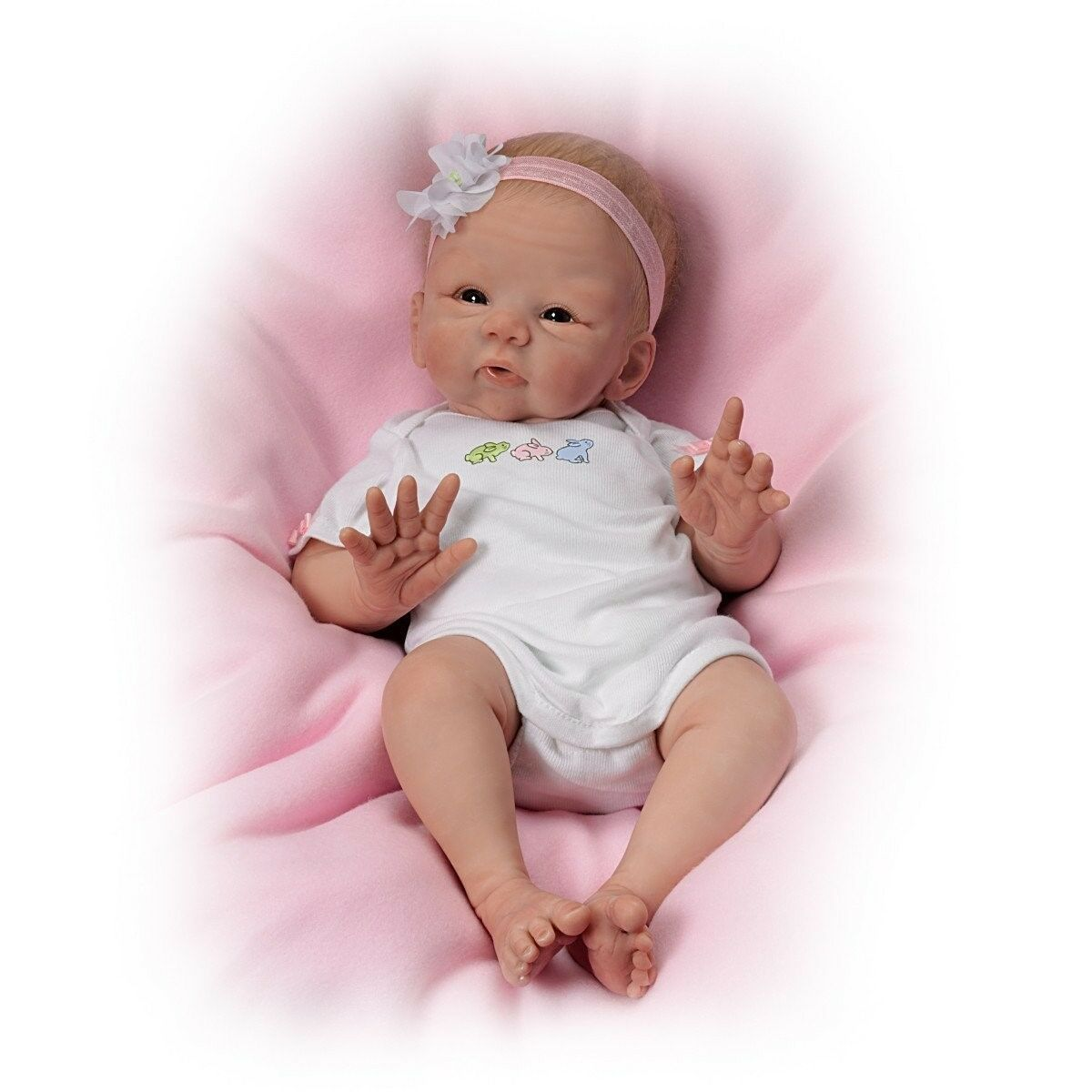Ashton drake so truly real snuggle bunny baby doll new for The ashton