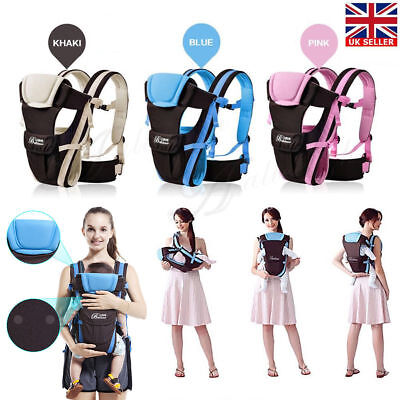 NEW ERGONOMIC STRONG BREATHABLE ADJUSTABLE INFANT NEWBORN BABY CARRIER