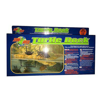 Turtle Dock medium 39x18cm - Schildkröteninsel Wasserschildkröten Frösche Frosch