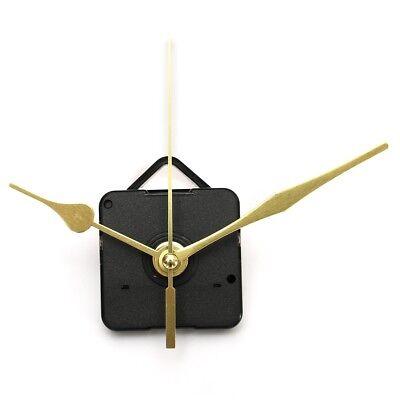 DIY Long Gold Hands Wall Quartz Clock Spindle Movement Mechanism Repair Tool Kit
