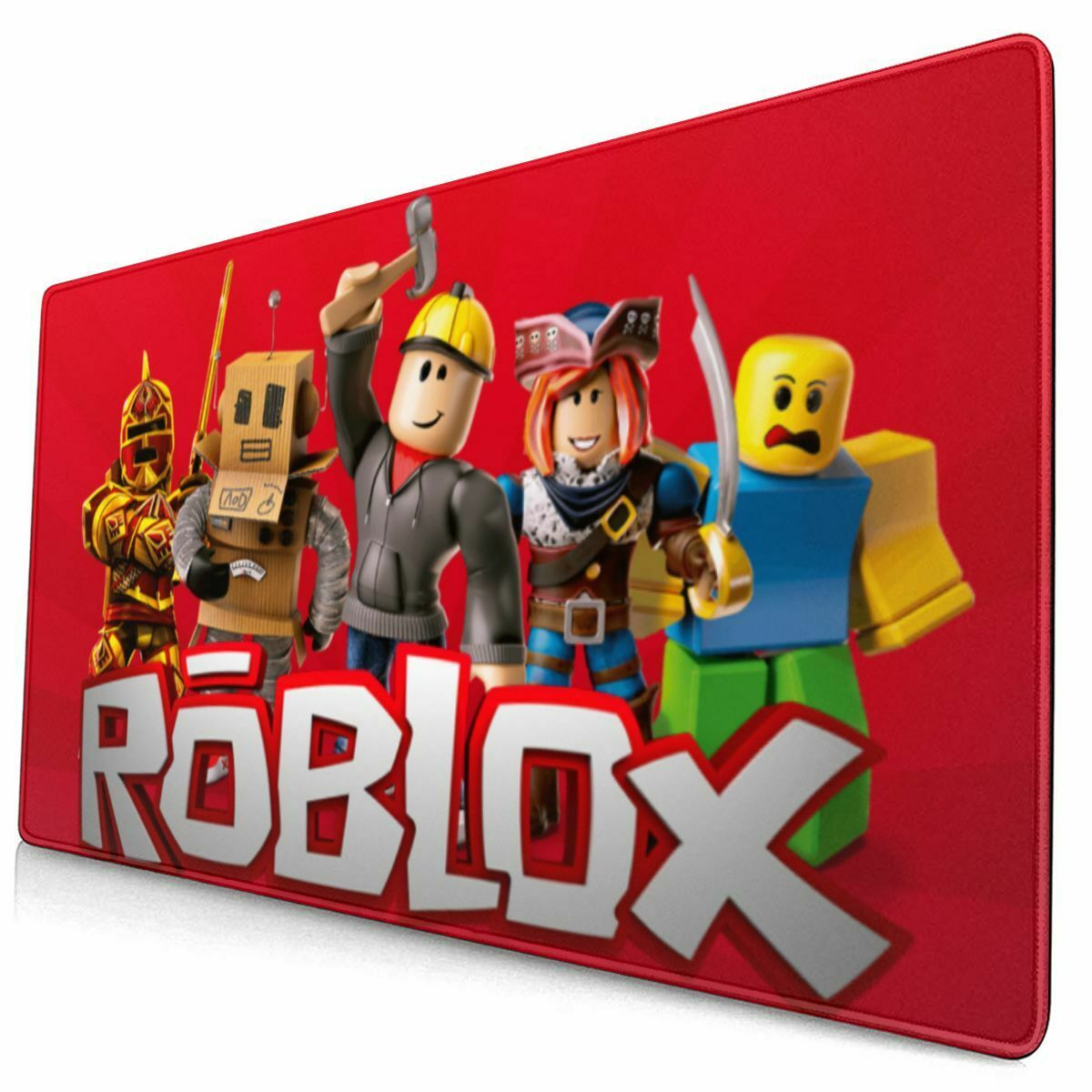 Roblox Mouse Lock Not Working Roblox Characters Gaming Mouse Pad Large Non Slip Desk Keyboard Mat Game Playmat Ebay