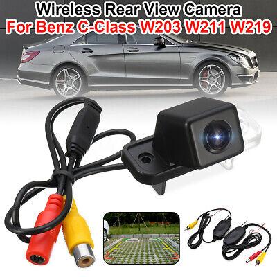 Wireless Rückfahrkamera Wasserdicht 12V Für Mercedes Benz C-Class W203 W211 CLS