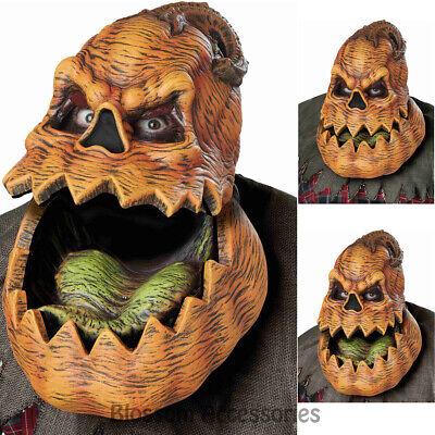 AC13 Psycho Jack O Lantern Pumpkin Ani Motion Horror Halloween Costume Mask ()