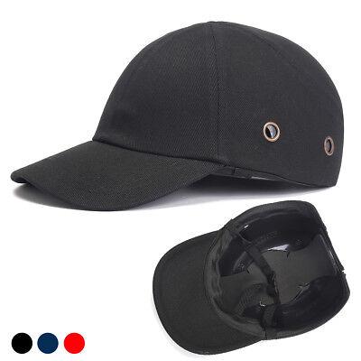 Lightweight Safety Hard Hat Black Baseball Bump Caps Head Protection Caps