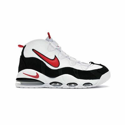 Nike Air Max Uptempo '95 Men's Basketball Shoes CK0892 101 White Red Black NIB