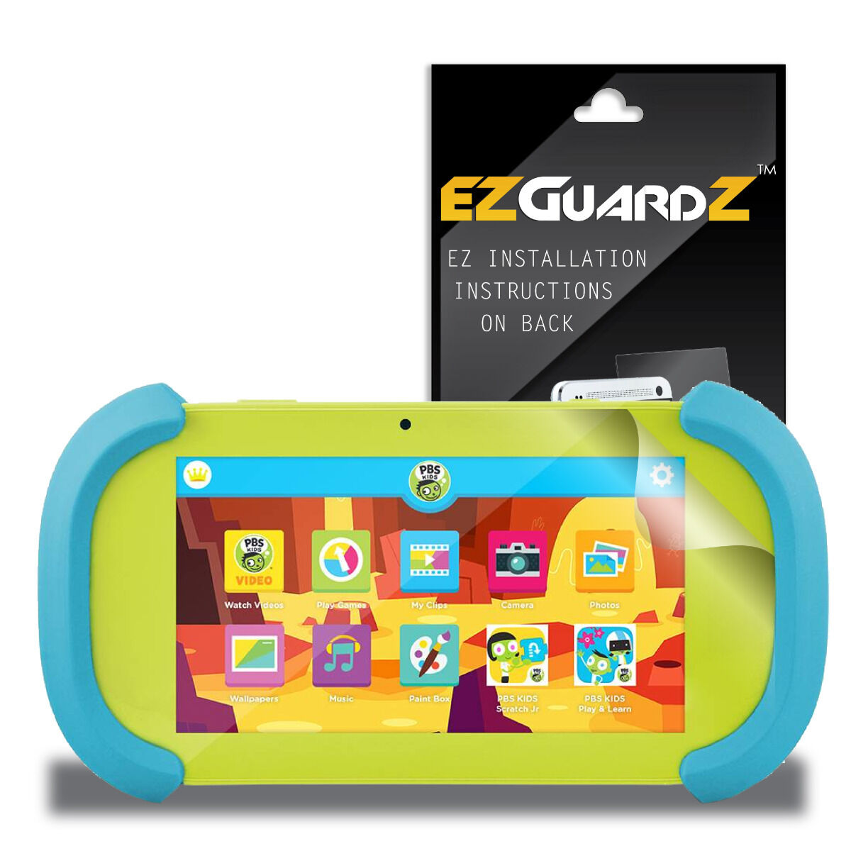 """3X Anti-Glare Matte Screen Protector Shield For Ematic PBS kids Playtime Pad 7/"""""""