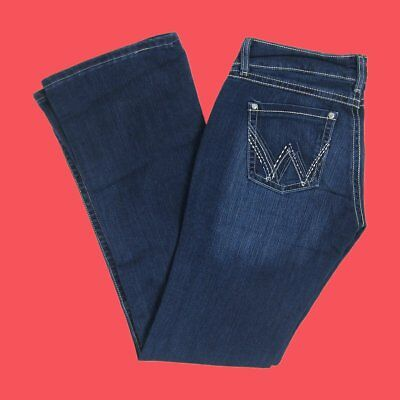 Wrangler Womens Premium Patch Sadie Sit At Hip Boot Cut Jean 07MWZTB Pick Sz NWT (Womens Premium Patch)