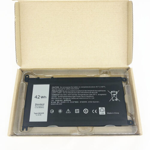 WDXOR Battery for DELL Inspiron 13 5368 5378 15 5567 5568 5578 T2JX4 42Wh