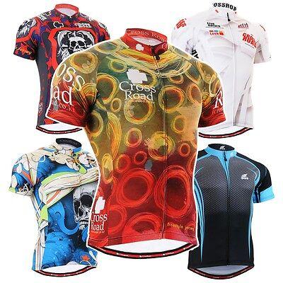 FIXGEAR CS Short Series Cycling Jersey Road Mountain Bike Shirts MTB Bicycle