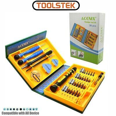 ACENIX® 38 Piece Repair Tool Kit, Computer Tablet iPhone iMac Macbook Pro Air