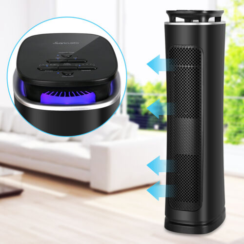 Air Cleaner 3 Stages 99.97% Filtration HEPA Filter Air Purifier Mosquito Trap US