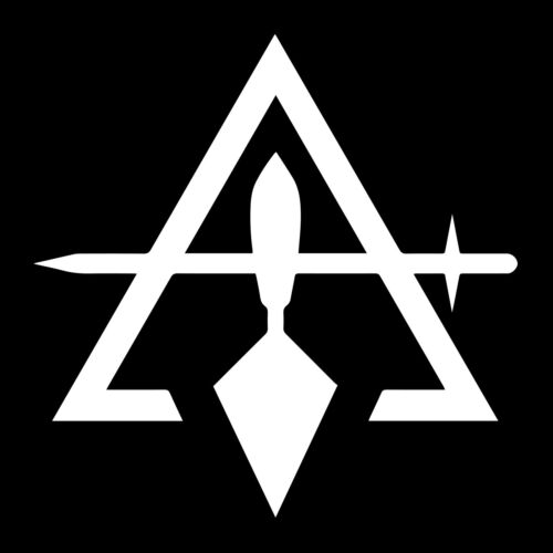Cryptic Council Masonic Vinyl Decal - White 6 Inch