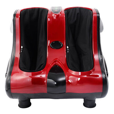 Deluxe Electric Circulation Foot Leg Massager Shiatsu Blood Massage Machine