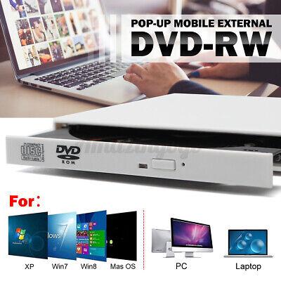 Slim Portable USB 2.0 Ultra External DVD-RW CD-RW Burner Wri