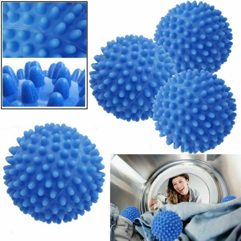4pc Reusable Dryer Balls Washing Laundry Drying Fabric Softe