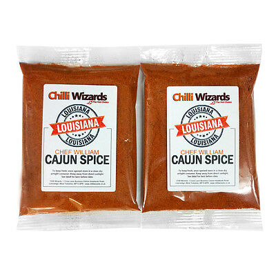 Cajun Spice (Chef William) - Chilli Wizards - Highest Quality - 200g