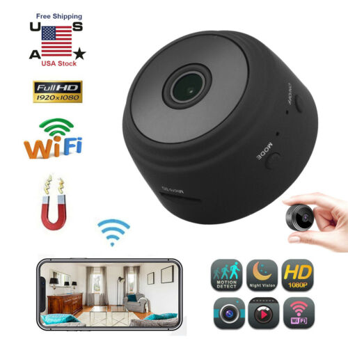 Mini Hidden Spy Camera HD 1080P Wireless Wifi IP DVR Night V