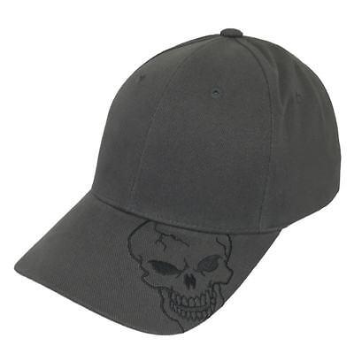 Charcoal Skull Skateboard Biker Skeleton Motorcycle Punisher Baseball Hat Cap (Skeleton Hat)