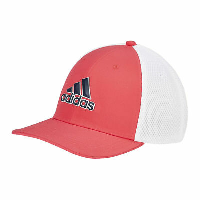 efb8a7c9 Adidas 2019 Mens A-Stretch Tour Fitted Mesh Baseball Golf Cap / Hat ...
