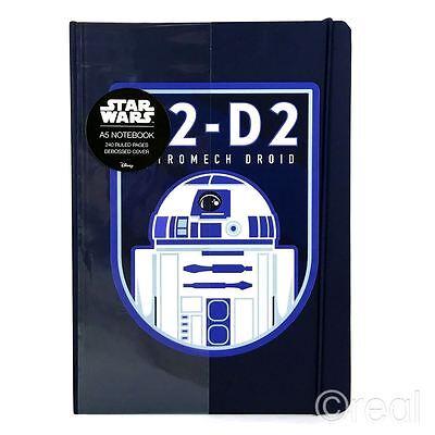 Star Wars R2-d2 Astromech Droid A5 Hardback Notepad Notebook Official