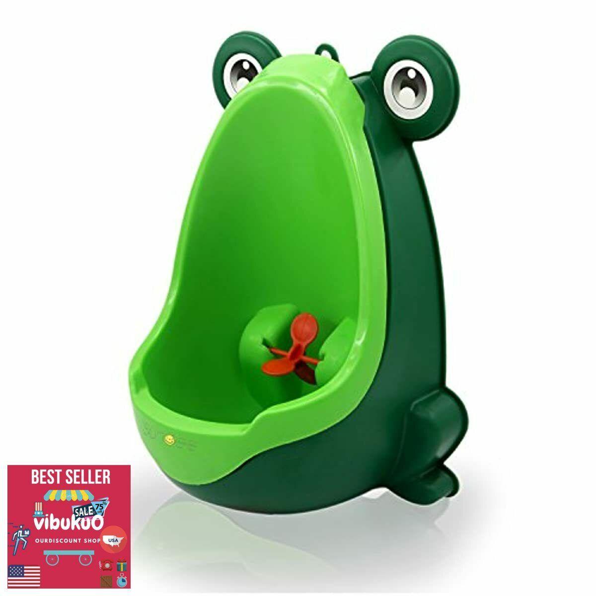 Frog Children Potty Training Toilette Urinal Baby Toddler Fu