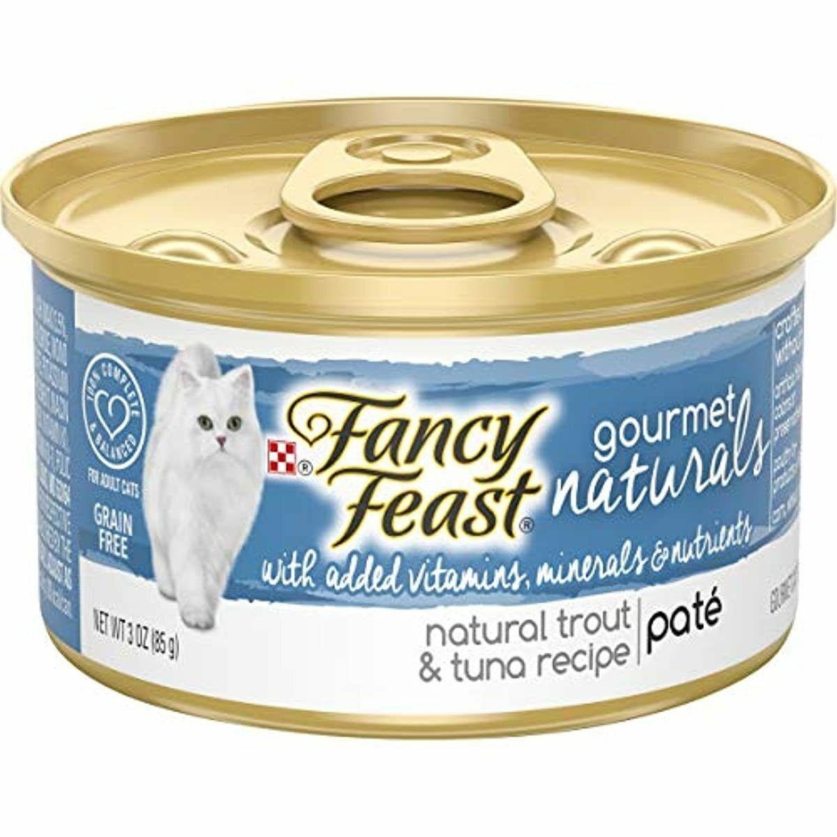 Purina Fancy Feast Grain Free Pate Trout ...