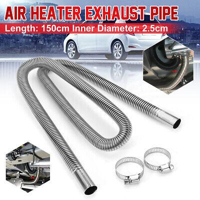 49ft Stainless Steel Exhaust Pipe Hose Parking Air Heater Tank Diesel Gas