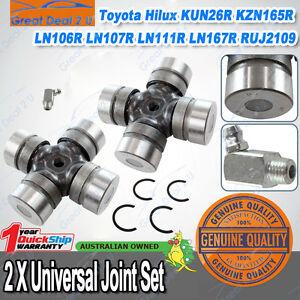Pair Universal Joint DYNA 150 Hilux KUN26R KZN165R LN106R 107R 111R 167R 172R AU