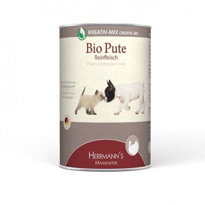 Herrmanns Hundefutter Reinfleisch BioPute | 12x400g