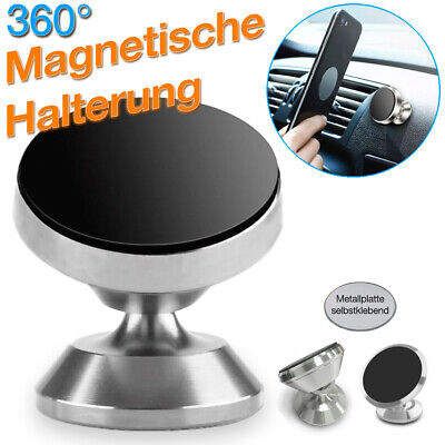 Magnet Halterung Smartphone KFZ Armaturenbrett 360° Universal Handy Auto