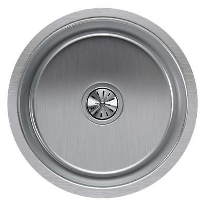 Elkay ELU16FB Mystic Lustertone Undermount SS, Single Bowl Bar/Bath Sink (Elkay Mystic Undermount Sink)