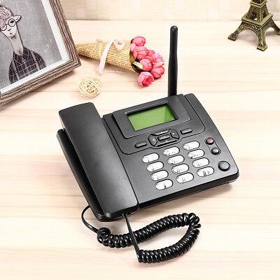 Wireless GSM Desk Mobile Phone SIM Card Desktop TNC Antenna Interface (Telephone Sim Card)