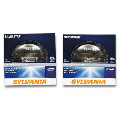 Sylvania SilverStar High Beam Low Beam Headlight Bulb for Ford E-150 qo
