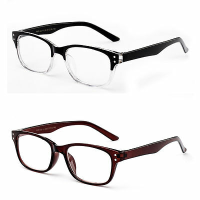 Classic Horn Rim Frame with Clear Lens Fashion Glasses for Costumes & Cosplay. (Glasses For Fashion)
