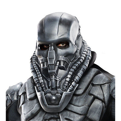 Man of Steel Superman General Zod Adult Soft Latex Costume Mask Rubies 68485 ()