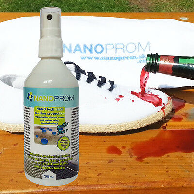 Nano technology fabric impregnation magic spray for textile, shoes, coat, boots