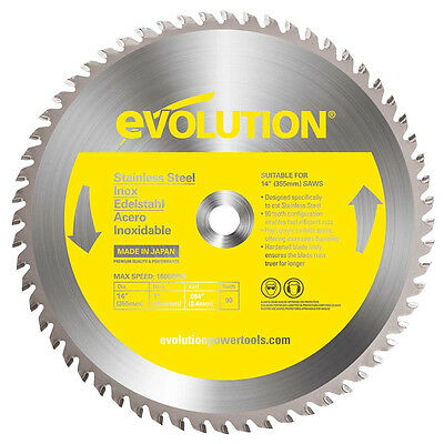 Evolution 14bladess 14 X 90t X 1 For Cutting Stainless Steel Max Rpm 1500