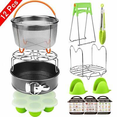 Instant Pot 6,8 Qt Electric Pressure Cooker Include 12 Piece