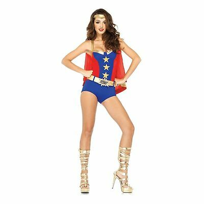 Comic Book Girl Costume for Women (all sizes) Superhero New by Leg Avenue 85224